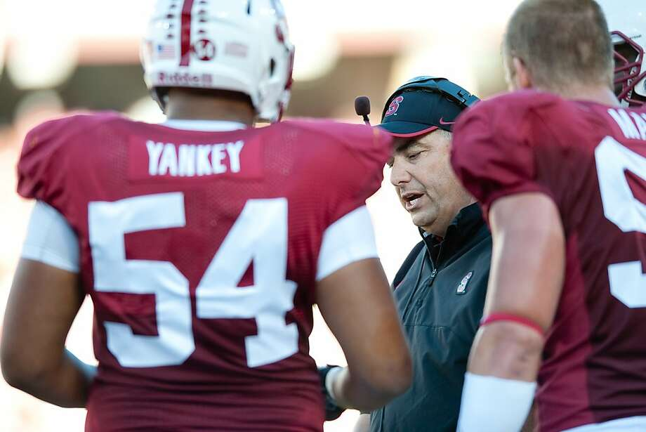 Pete Alamar, who was fired as Cal's special-teams coach after the 2009 season, now leads Stanford's units. Photo: Don Feria, Stanfordphoto.com