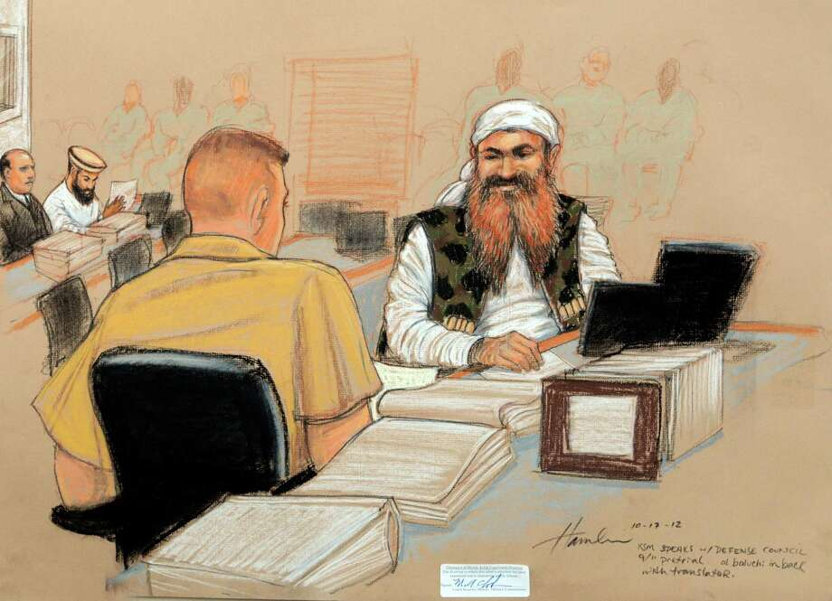Khalid Sheikh Mohammed is the purported mastermind of 9/11. Photo: Janet Hamlin / AP