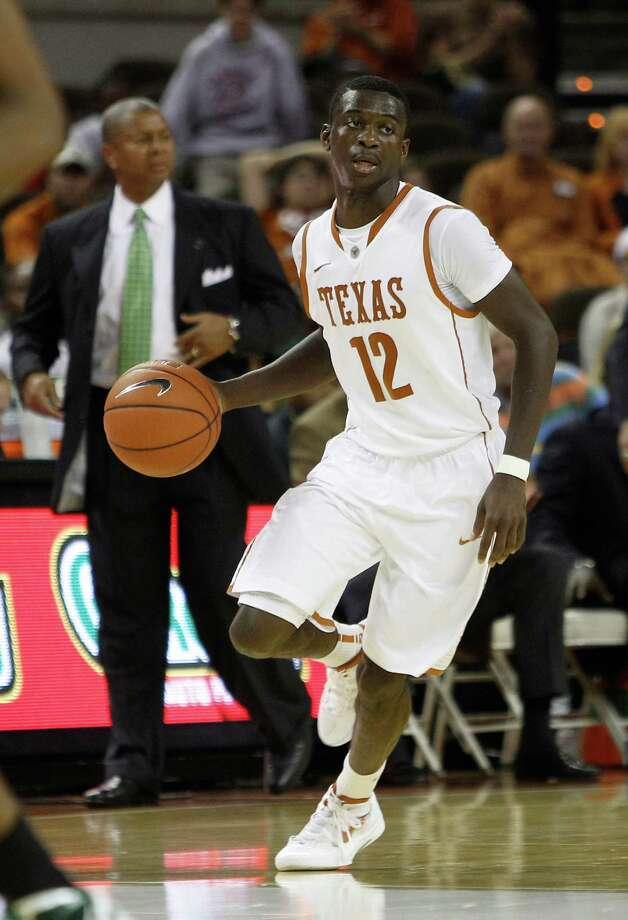 Texas' Myck Kabongo (12) during the second half of an NCAA college basketball game against North Texas,  Tuesday, Nov. 29, 2011, in Austin, Texas. (AP Photo/Eric Gay) Photo: Eric Gay / AP
