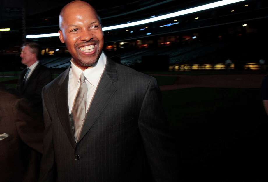 Houston Astros Manager Bo Porter attends the Blue Star Gala saluting Hall of Fame broadcaster Milo Hamilton at Minute Maid Park, Tuesday October 16, 2012  in Houston, Texas.  The gala was a gathering of many former Major League stars that wanted to honor the work of Hamilton. (Billy Smith II / Houston Chronicle) Photo: Billy Smith II