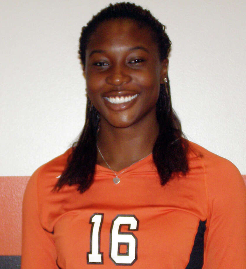 Deveney Wells-Gibson, Sam Houston State volleyball: Wells-Gibson, a sophomore outside hitter from Churchill, was chosen Southland Conference Offensive Player of the Week. Photo: Courtesy Photo