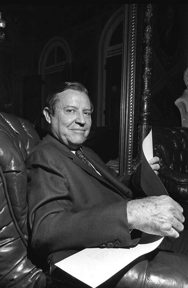 Ralph Yarborough: Democratic U.S. senator from Texas for more than a decade was author of Endangered Species Act and legislation that created Medicare and Medicaid. Photo: Associated Press File Photo / AP1970