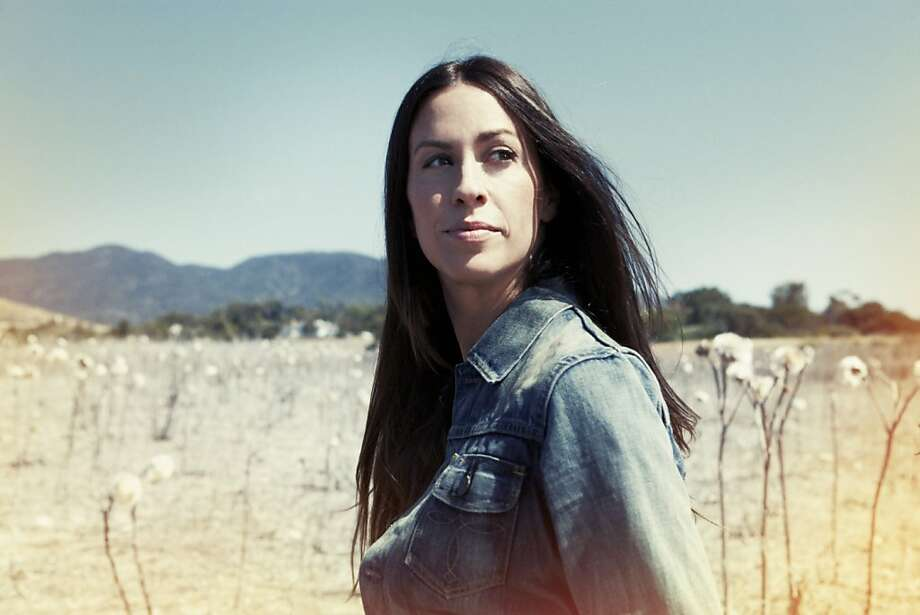 Alanis Morissette will play Nov. 3 at the Uptown Theatre as part of the twice-yearly Live in the Vineyard series. Photo: Collective Sounds