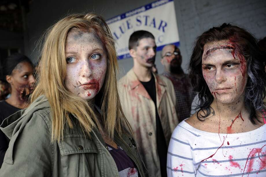 5. Zombie (Libby March/The Muskegon Chronicle/AP)