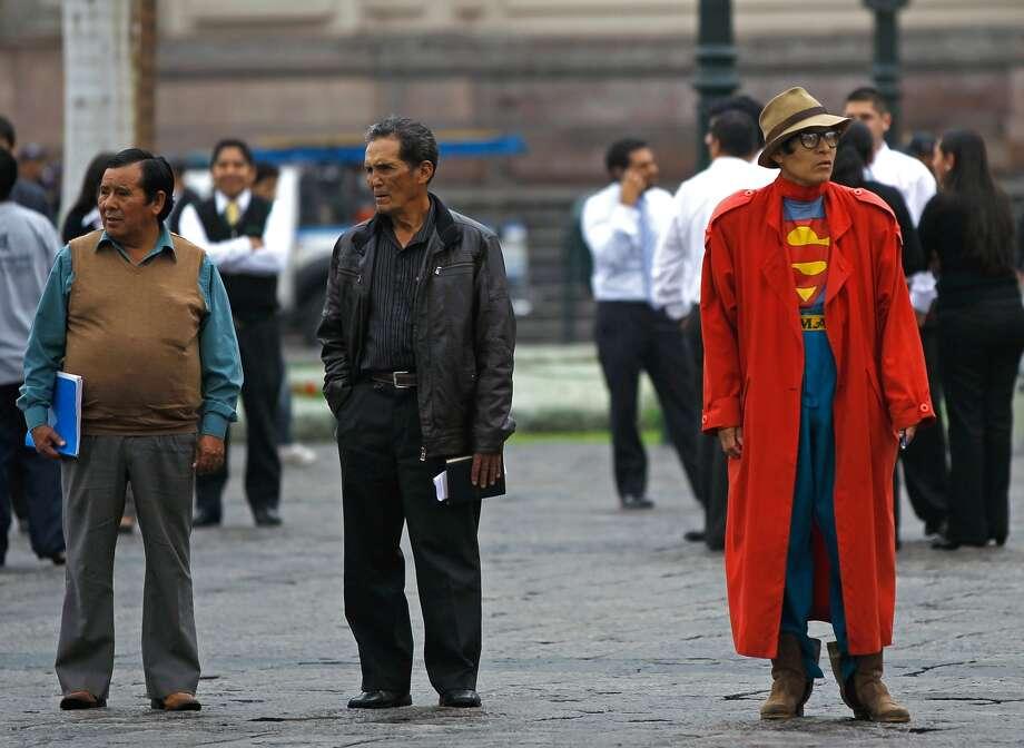 Top 10 adult costumes10. Superman (Martin Mejia/AP)