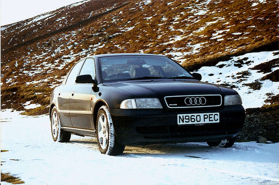 48. 1996 Audi A4: As Edmunds notes, Audi was floundering prior to the debut of the Audi A4, but the car's success helped to save the company's brand. (Photo: John Drinkwater, Flickr) Photo: .