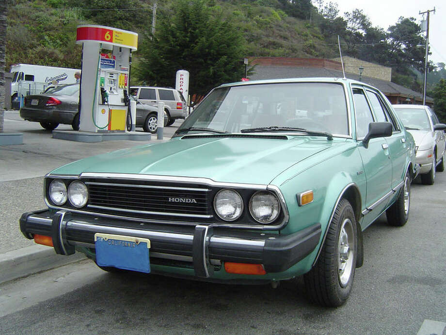 45. 1976 Honda Accord: The Honda Accord changed Americans' impression of Japanese-made cars, and it helped Honda get into the marketplace of family sedans. (Photo: Geographer, Wikipedia) Photo: .