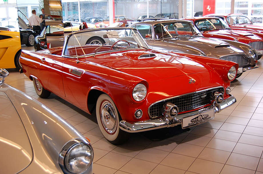 41. 1955 Ford Thunderbird: Do we need to say much about this car? Like some of the other cars on this list, it's become an iconic classic car. (Photo: StephenHanafin, Flickr) Photo: .