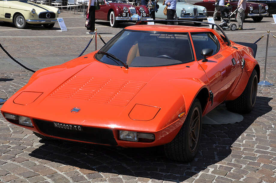 36. 1973 Lancia Stratos: This car looks pretty strange, but it's performance on the road was never in question. The car won the World Rally Championship from 1974 through 1976. (Photo: Giorgio Brida, Flickr) Photo: .