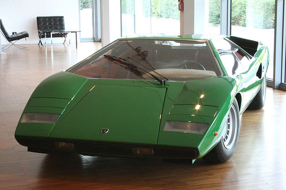 33. 1973 Lamborghini Countach: Lamborghini doesn't do anything half way. This car had a V12 under the hood and didn't skimp on any other details. (Photo: Ta7za, Flickr) Photo: .