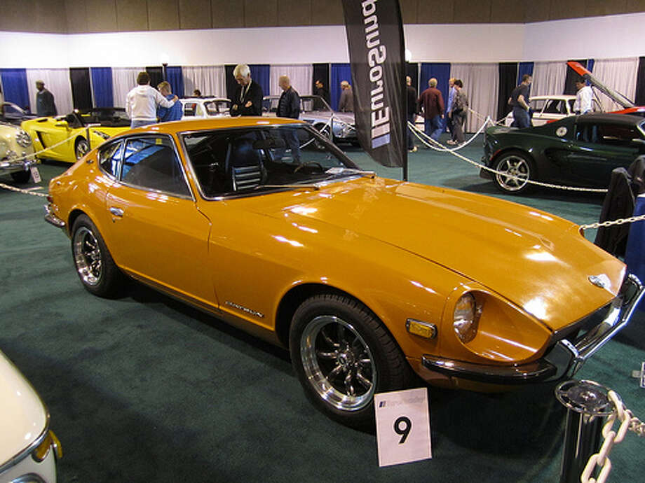 29. 1970 Datsun 240Z: The car helped get Japanese sports cars some respect, and it helped to make a name for the Datsun in the U.S. (Photo: Shoulder_rats, Flickr) Photo: .