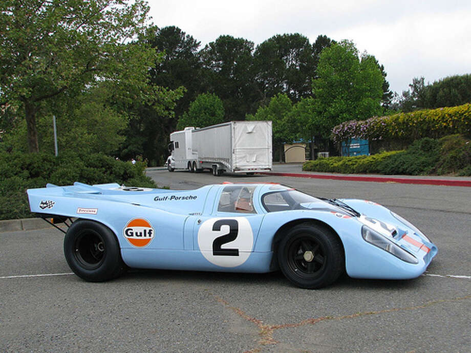 23. 1969 Porsche 917: This model is credited with the fastest lap time at the Le Mans race, and it won the race two years. Those credentials are enough to make it one of the top 50 best cars of all-time. (Photo: Jack_Snell, Flickr) Photo: .