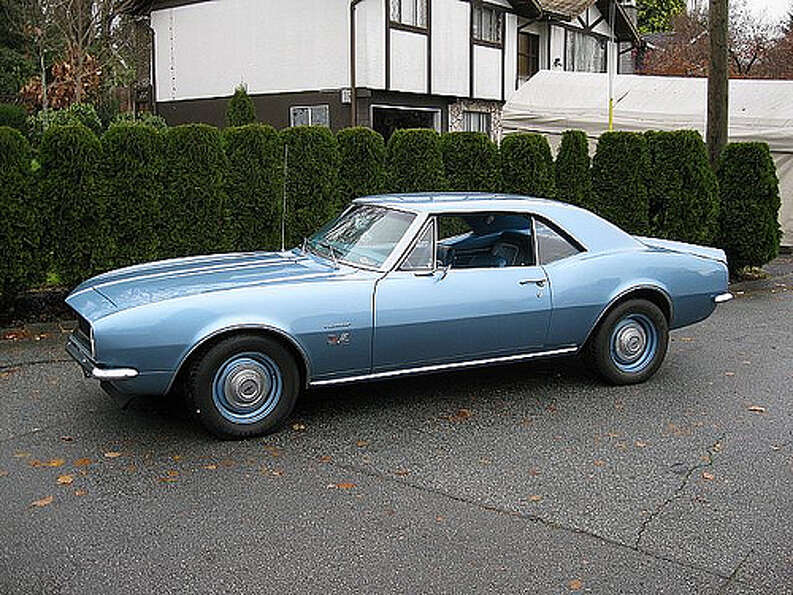18. 1967 Chevrolet Camaro: The 1967 Camaro was General Motors response to the Fo