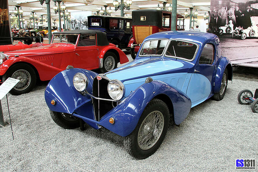 13. 1938 Bugatti Type 57S Atlantic: Like Lamborghini, Bugatti are about style an