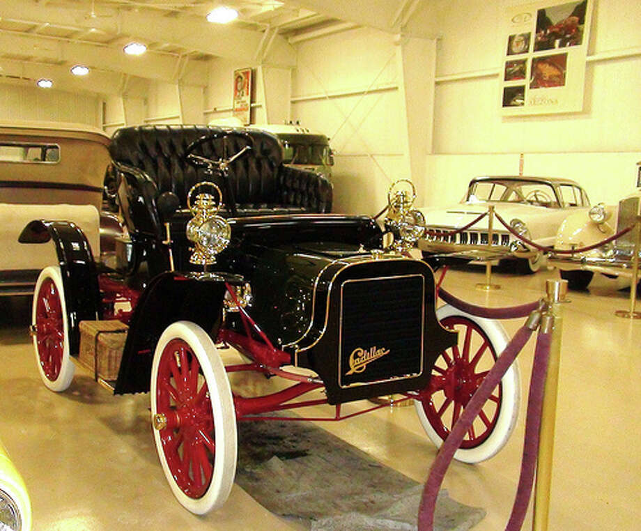 12. 1908 Cadillac: The model helped launch the Cadillac brand, and it was the first with interchangeable parts. Think where we would be without it? (Photo: Stradablog, Flickr) Photo: .