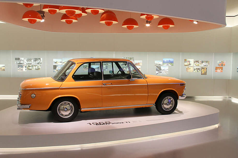 10. 1968 BMW 2002: The model helped drivers know a sedan didn't mean a crappy car. The model gave drivers plenty of fun on the road. (Photo: Pilot_micha, Flickr) Photo: Michael Zacher, . / Michael Zacher