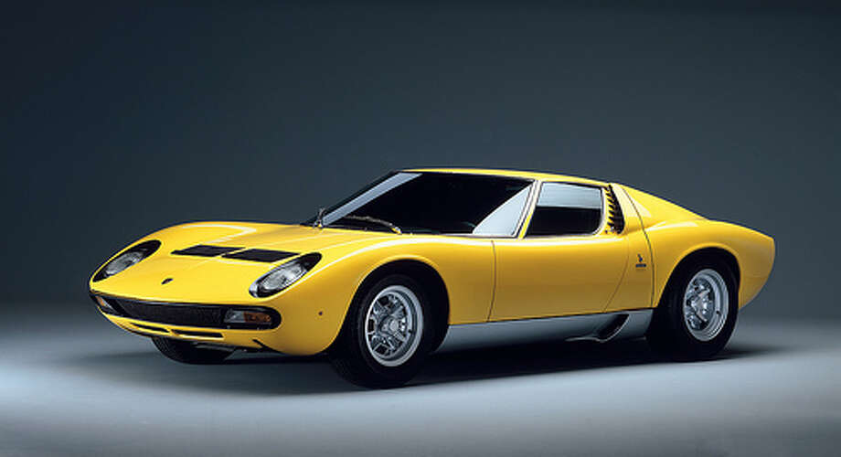 11. 1966 Lamborghini Miura: Some have called this one of the best models Lamborghini has ever made. The styling and performance were ahead of its time. (Photo: Createordie, Flickr) Photo: .