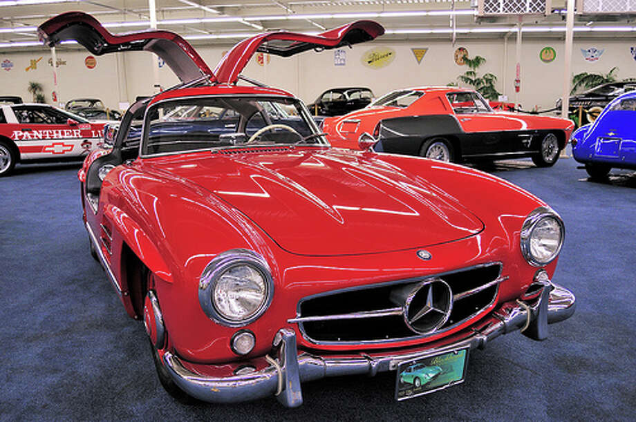6. 1955 Mercedes-Benz 300SL Gullwing: Edmunds called this Benz the greatest model ever built by the luxury car maker. It also was the sports car standard for the 1950s. (Photo: Gregory Moine, Flickr) Photo: .