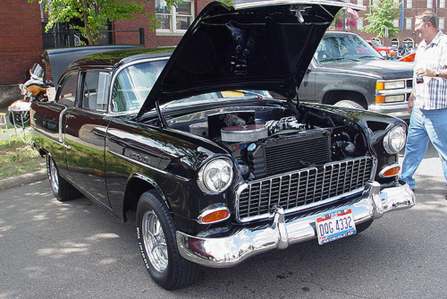 3. 1955 Chevrolet: The greatest Chevy ever built packed a 265-cubic-inch V8 engine under the hood that made it rival even a Ferrari. (Photo: GB_packards, Flickr) Photo: .