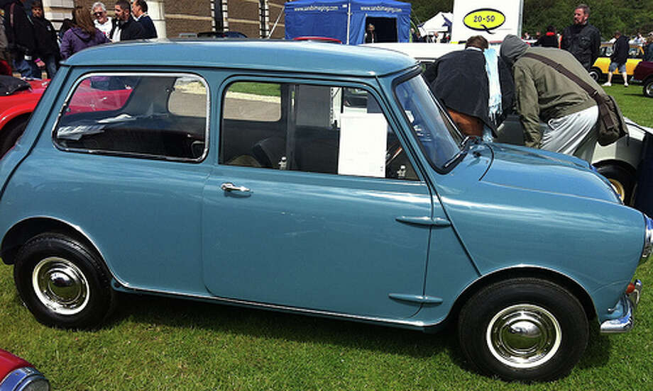 2. 1959 Austin Mini: This model went by a couple different names, but it was a winner under whatever branding. It would become a blueprint for mainstream modern cars, Edmunds wrote. (Photo: Kayels, Flickr) Photo: .