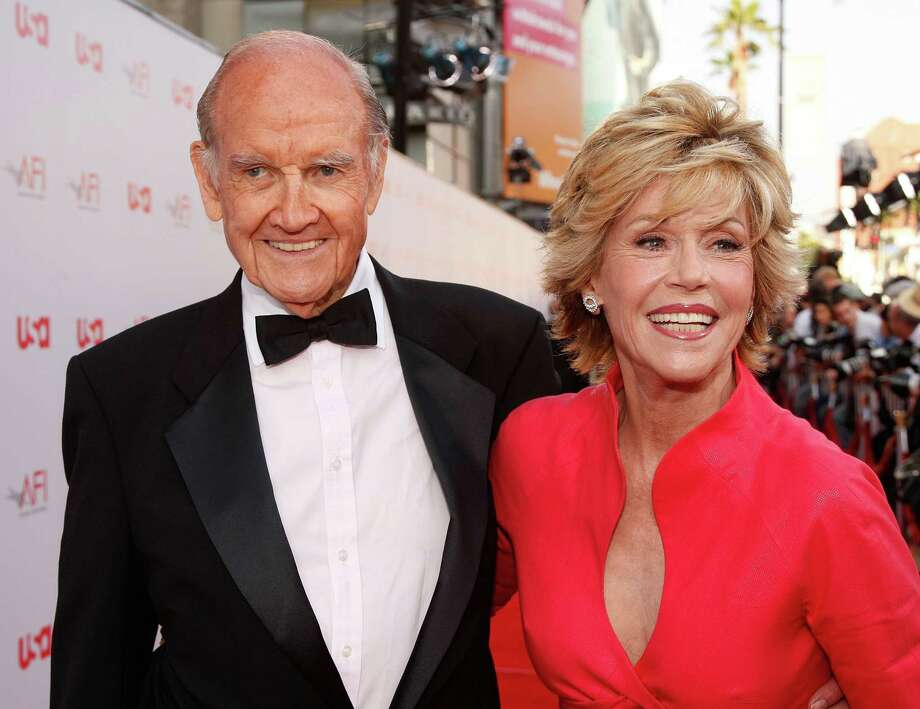 McGovern  and actress Jane Fonda arrive at the 36th AFI Life Achievement Award tribute to Warren Beatty held at the Kodak Theatre on June 11, 2008 in Hollywood.  Photo: Frazer Harrison, Getty / 2008 Getty Images
