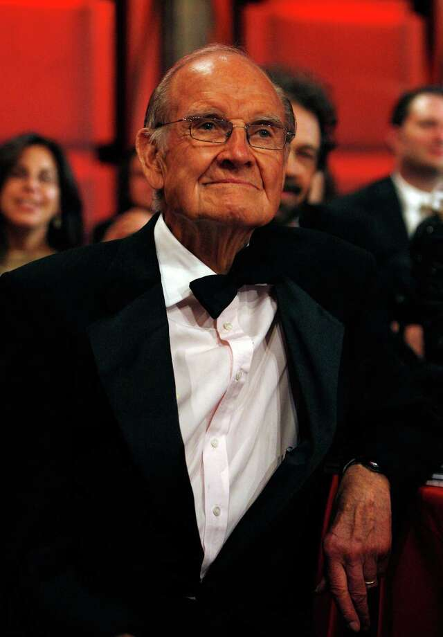 McGovern is in the audience during the 36th AFI Life Achievement Award tribute to Warren Beatty held at the Kodak Theatre on June 12, 2008, in Hollywood.  Photo: Frazer Harrison, Getty / 2008 Getty Images