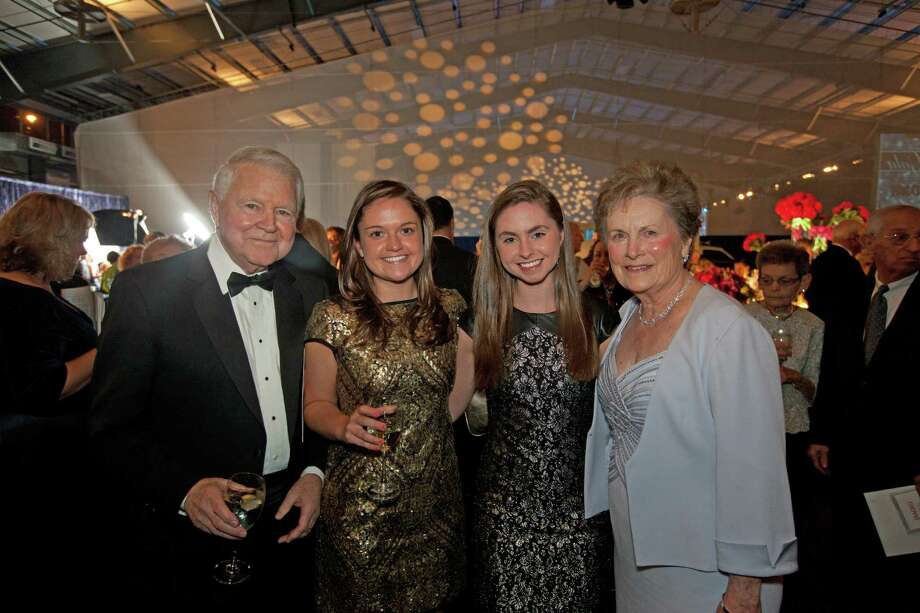 Norwalk Hospital Gala Honorees George and Carol Bauer with granddaughters Carolyn and Courtney Toll. Photo: Contributed Photo / Thomas McGov, Contributed Photo / Copyright: Thomas McGovern, tom@tommcgphoto.com