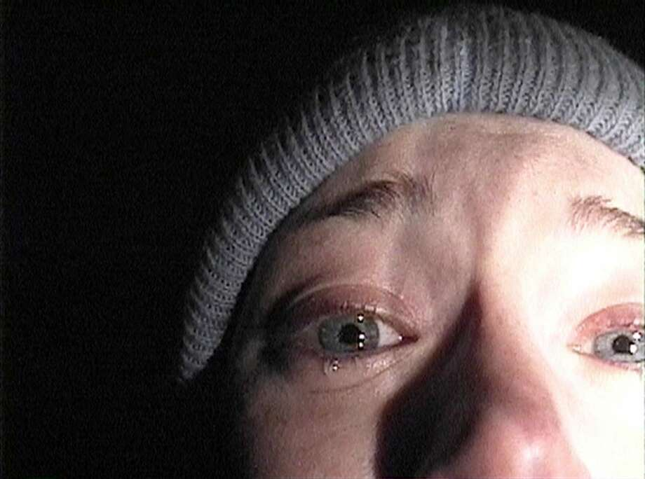 """The Blair Witch Project"" - This 1999 mock documentary about the final days of three student filmmakers who vanish mysteriously while making a movie on the legendary witch of Blair made many think twice before going camping."