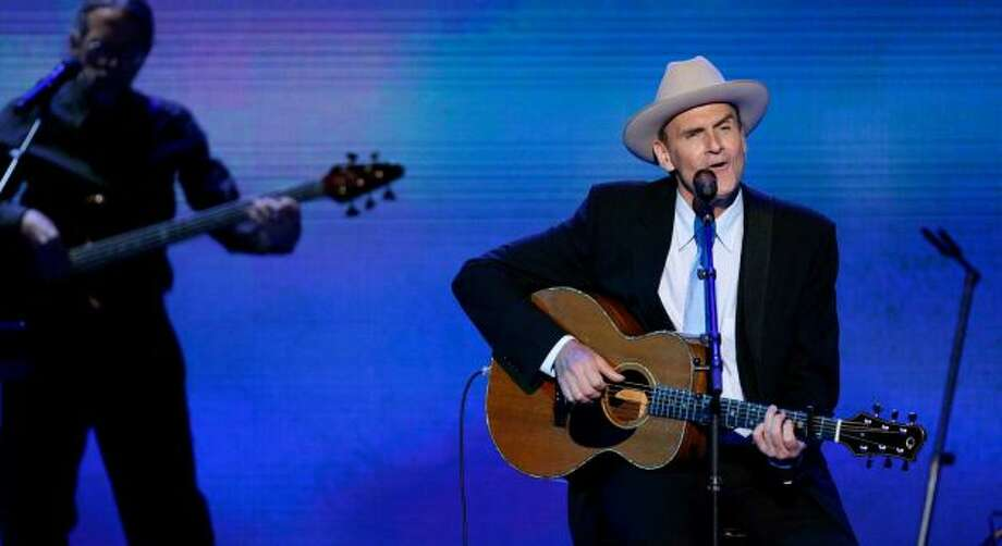 "James Taylor will sing ""America the Beautiful"" on the West Front of the Capitol on Monday."