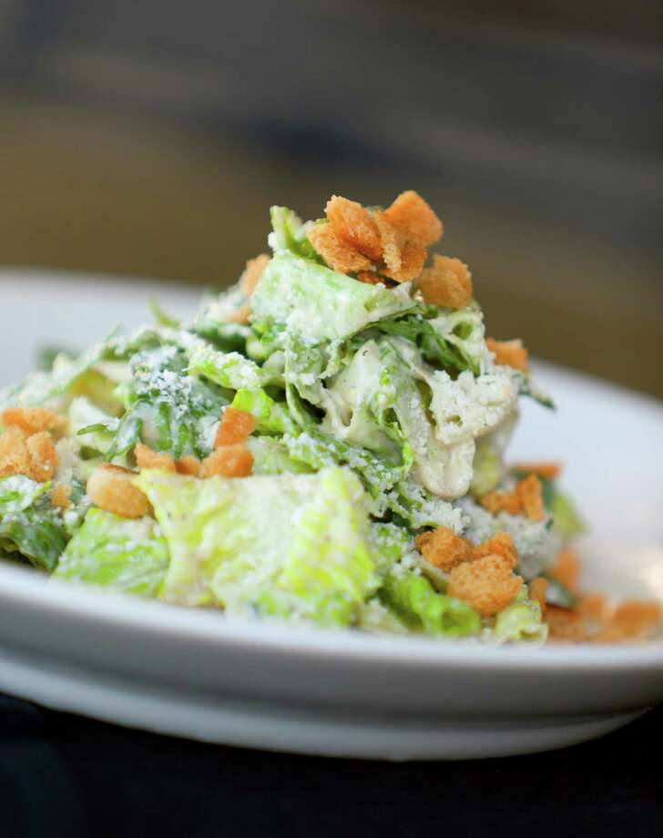 The Cesar salad from J. Alexander's is seen Wednesday Oct. 17, 2012. Photo: William Luther, San Antonio Express-News / © 2012 San Antonio Express-News