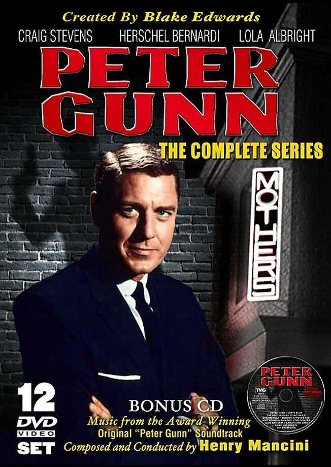 dvd cover PETER GUNN: THE COMPLETE SERIES Photo: Amazon.com