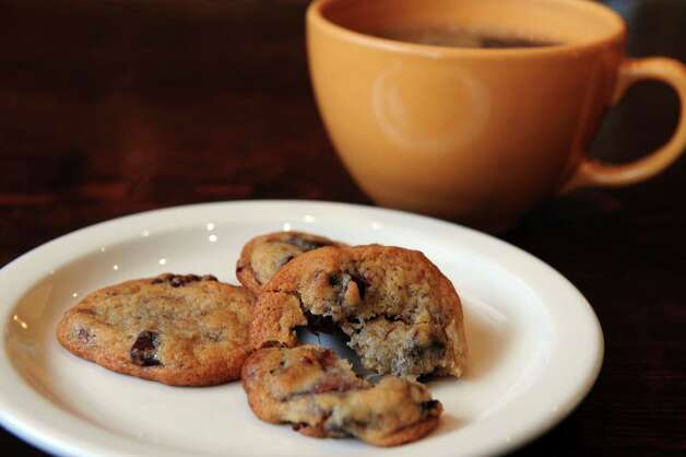 Sour Cherry Chocolate Chunk cookies at the SoNo Baking Company and Cafe in Norwalk. Photo: Autumn Driscoll / Connecticut Post