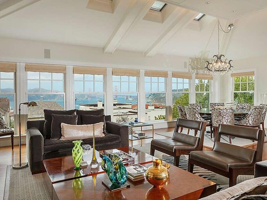 San Francisco, $6.5 million 66 Sea View Terrace Photo: Sotheby's International Realty, San Francisco Brokerage