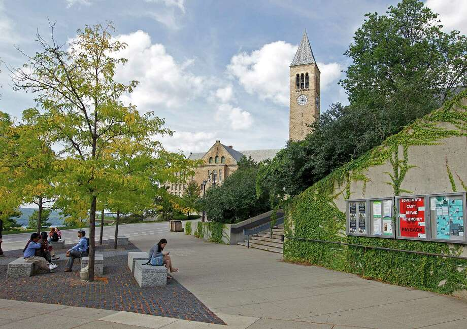 """Cornell University, called """"the first American university"""" by educational historian Frederick Rudolph, was founded in 1865. Its campus offers some good sightseeing, too. (Photos by Barbara D. Livingston)"""