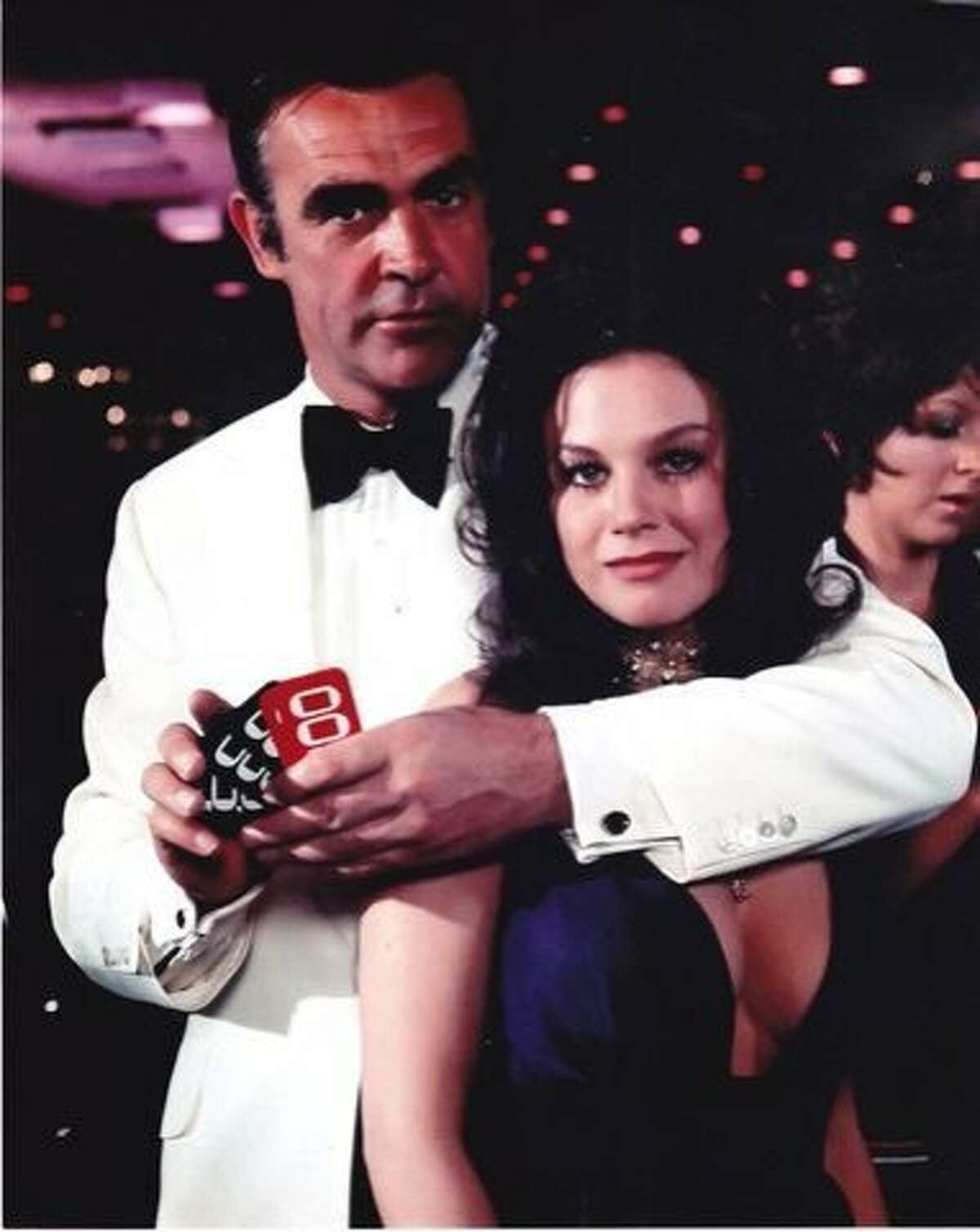 Lana Wood and Sean Connery in