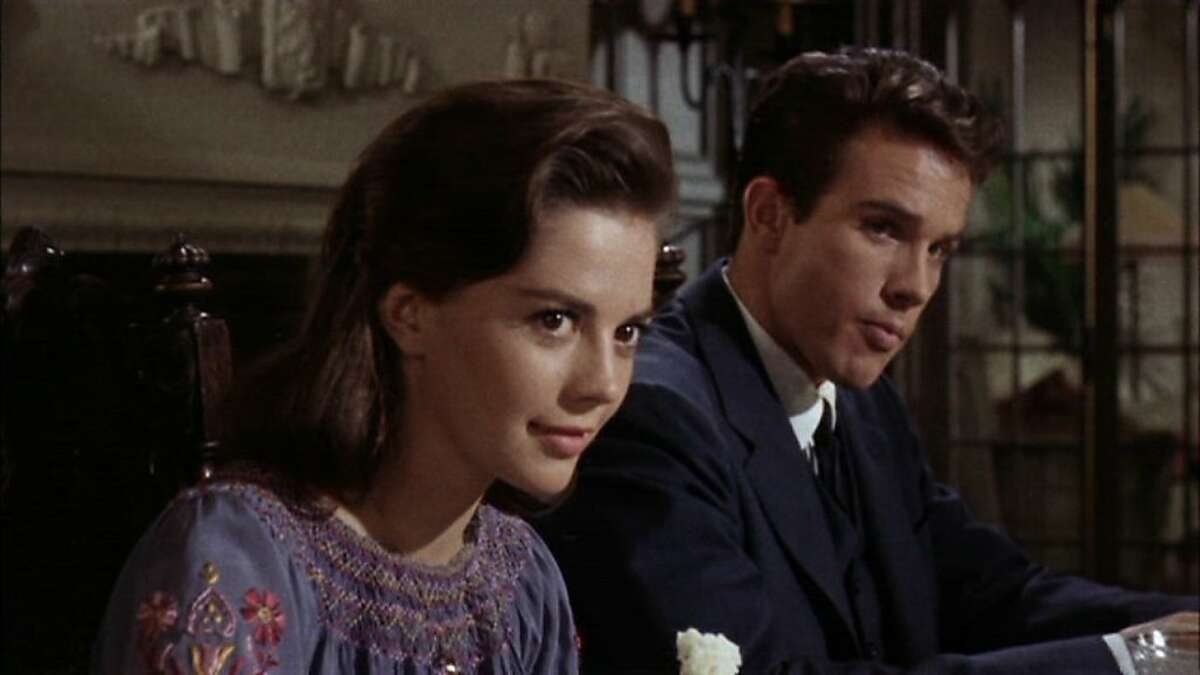 Natalie Wood, Lana Wood's sister, starred with Warren Beatty in