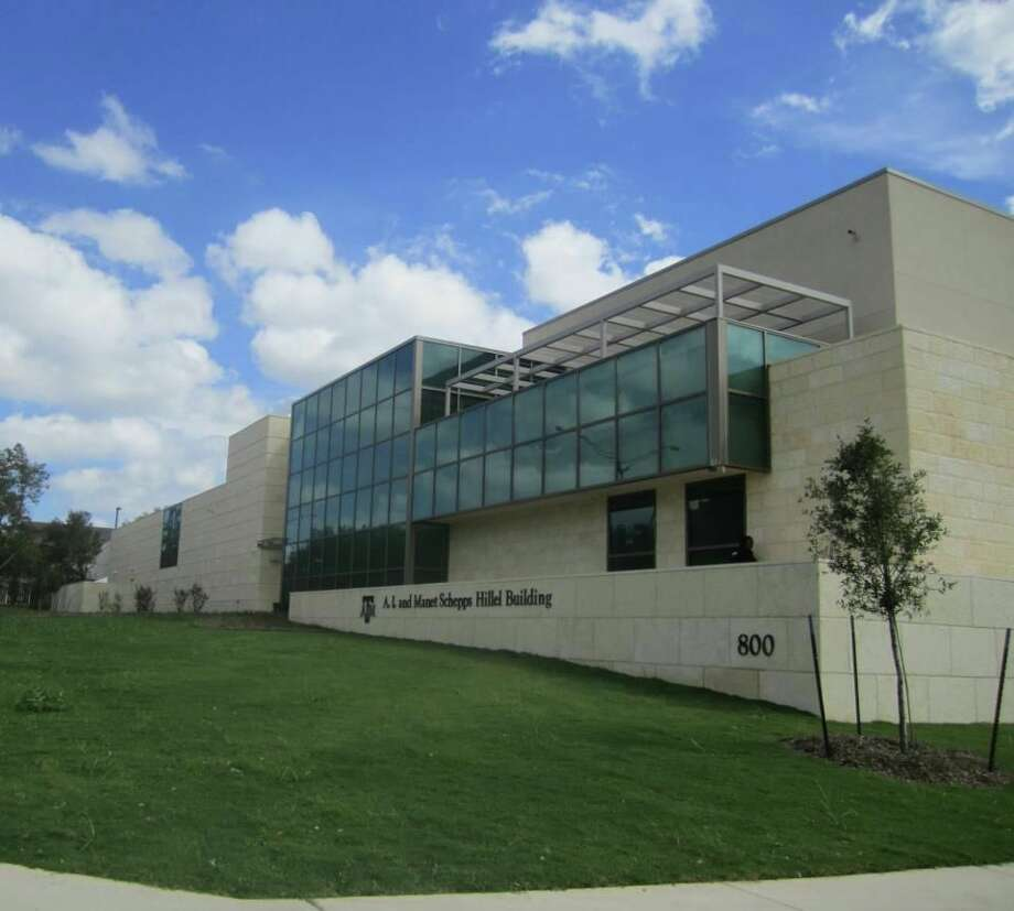 26. A.I. and Manet Schepps FoundationTotal given in 2012: $6.5 millionPictured: The Texas A&M Hillel dedicated its new building by naming it for its longtime supporters, A.I. and Manet Schepps. Photo: Courtesy Of Texas A&M Hillel