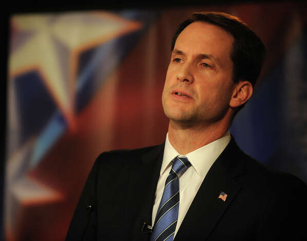 U.S. Rep. Jim Himes participates in U.S. Congressional Fourth District Debate at the Norwalk Inn & Conference Center in Norwalk on Thursday, October 18, 2012. Photo: Brian A. Pounds / Connecticut Post