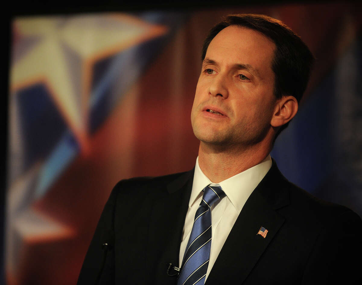 U.S. Rep. Jim Himes participates in U.S. Congressional Fourth District Debate at the Norwalk Inn & Conference Center in Norwalk on Thursday, October 18, 2012.