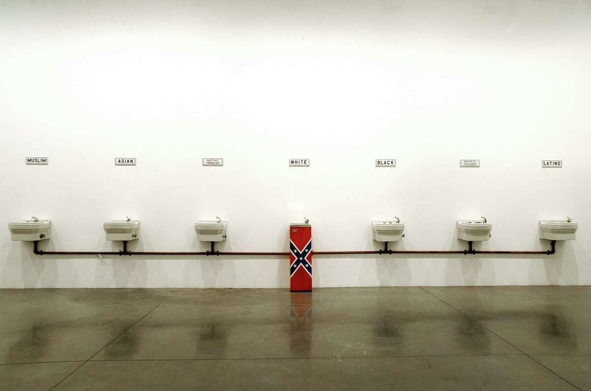 Catharine Clark Gallery of San Francisco will install Travis Somerville's provocative