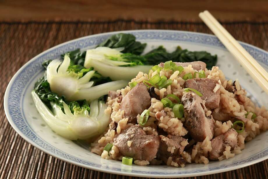 Chicken & Ginger Rice Photo: Craig Lee, Special To The Chronicle