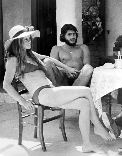 Brigitte Bardot in 1973, the year she retired from modeling and acting and began focusing on