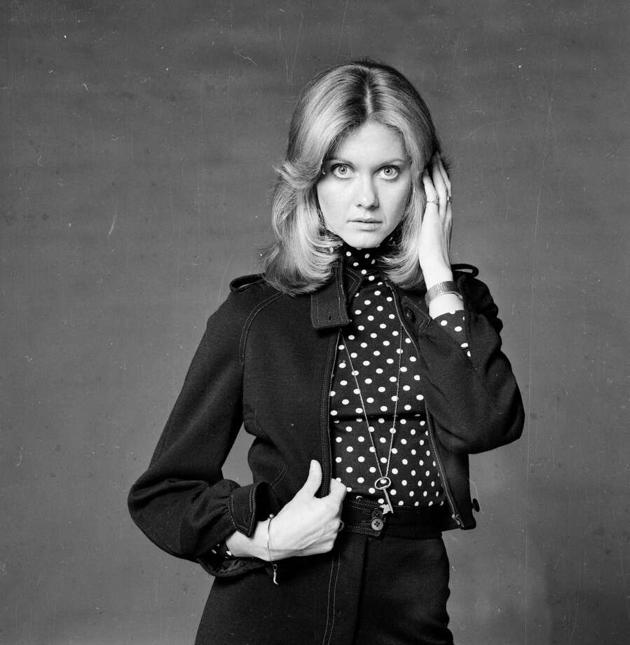 "British-born pop singer Olivia Newton-John had a bunch of chart-topping singles in the '70s, but it wasn't until she starred in the film adaptation of ""Grease"" in 1978 that she became a household name. She's pictured in 1974. Photo: Steve Wood, Getty Images / Hulton Archive"
