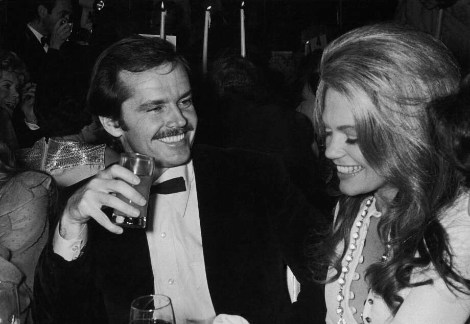 "Dyan Cannon, right, starred in ""Heaven Can Wait"" with Warren Beatty in 1978. She's pictured with Jack Nicholson in 1975.  Photo: Hulton Archive, Getty Images / 2008 Getty Images"