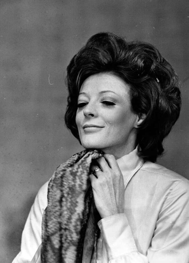 "Downton Abbey fans, this one's for you. Before she became Dame Maggie, Maggie Smith was a well-known stage and film actress nominated for several Oscars during the '70s. (She won an Academy Award for her 1969 movie ""The Prime of Miss Jean Brodie.""  Photo: Express Newspapers, Getty Images / Hulton Archive"