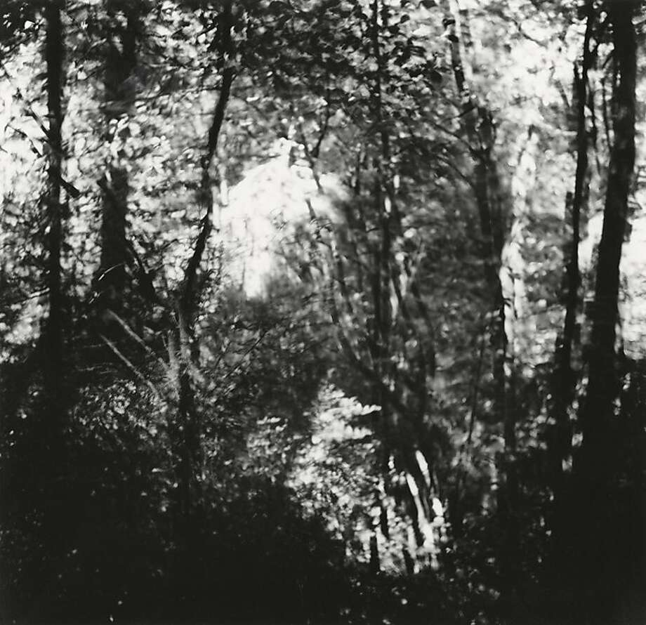 """Untitled"" (ca. 1968-72), gelatin-silver print by Ralph Eugene Meatyard. Although he and Burchfield apparently never met, they shared an affinity. Photo: Ralph Eugene Meatyard"