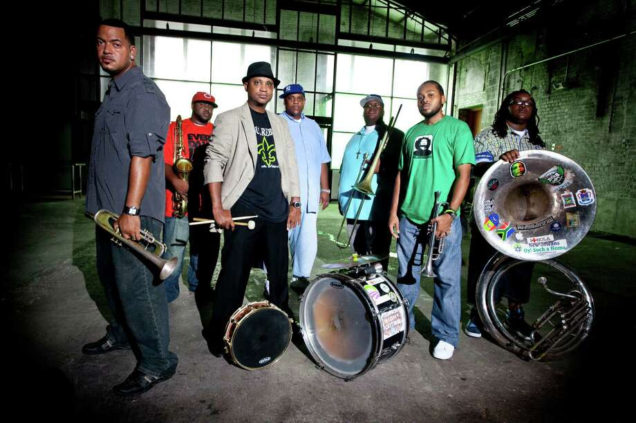 Fairfield Theatre Co. will hold a performance by Soul Rebels, a New Orleans jazz band, on Tuesday, Oct. 21, at StageOne. Photo: Contributed Photo