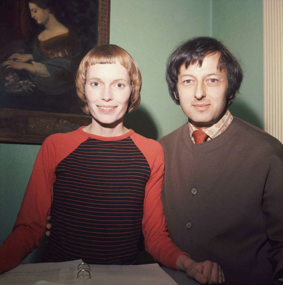 "Mia Farrow got her movie start in 1968's ""Rosemary Baby"" and continued in a string of '70s films, including ""The Great Gatsby."" She's pictured then-husband Andre Previn.  Photo: Fox Photos, Getty Images / 2010 Getty Images"