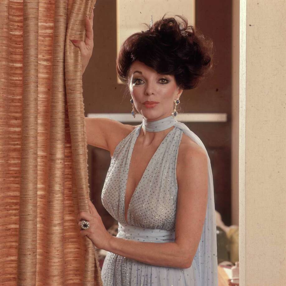 "British actress Joan Collins got her start in the '50s, but then her career tanked. In the late '70s, she starred in ""The Stud"" and ""The Bitch,"" two soft-core, disco-laced, pornish movies based on her sister's novels, and she was back. That paved the way to ""Dynasty."" Collins is pictured in 1978.  Photo: Keystone, Getty Images / Hulton Archive"