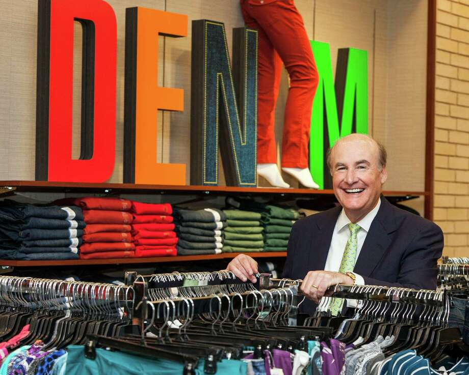 Michael Glazer became CEO of Stage Stores six months ago. The chain has more than 800 department stores, few of them in urban settings. Palais Royal at Meyerland Plaza is one of 50 stores in the Houston area. Photo: Craig Hartley / Copyright: Craig H. Hartley